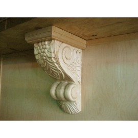 Counter Top Support Natural Oak