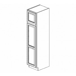 "18x84"" Wall Pantry Cabinet Expresso Traditional"