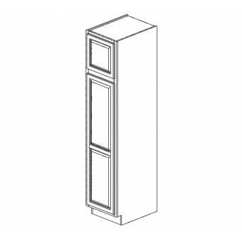 "18x90"" Wall Pantry Cabinet Expresso Birch"