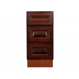 "15"" Vanity Cabinet with Drawers American Cherry"