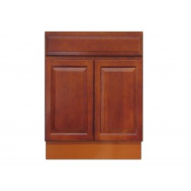 "24"" Vanity Cabinet Traditional Cherry"