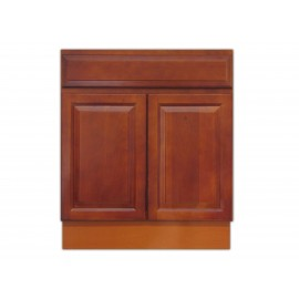 "27"" Vanity Cabinet Traditional Cherry"