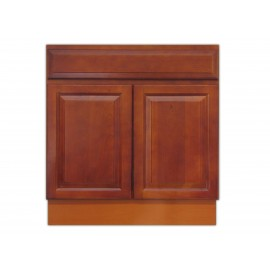 "30"" Vanity Cabinet Traditional Cherry"