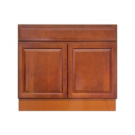 "36"" Vanity Cabinet Traditional Cherry"