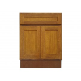 "24"" Vanity Cabinet Honey Oak"