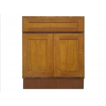 "27"" Vanity Cabinet Honey Oak"