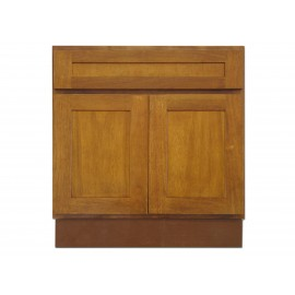 "30"" Vanity Cabinet Honey Oak"