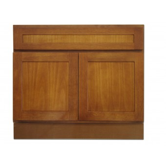 "36"" Vanity Cabinet Honey Oak"