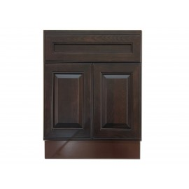 "24"" Vanity Cabinet Expresso Traditional"