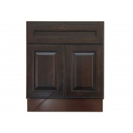 "27"" Vanity Cabinet Expresso Traditional"