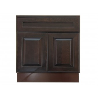 """30"""" Vanity Cabinet Expresso Traditional"""