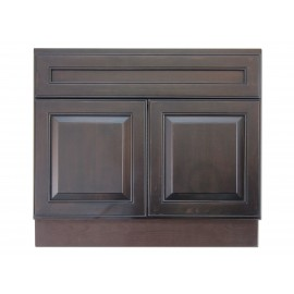 "36"" Vanity Cabinet Expresso Traditional"