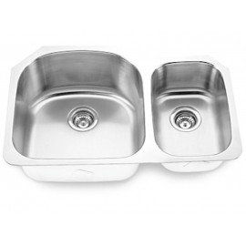 Undermount Stainless Steel Double Bowl Sink Model 3121L