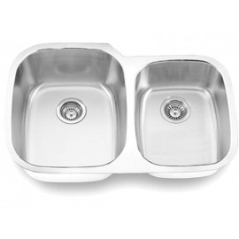 Undermount Stainless Steel Double Bowl Sink Model 503L